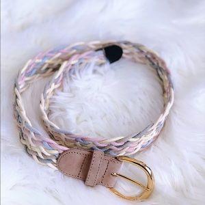 🔥 Braided Belt W/ Gold Buckle🔥